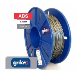 Filamento ABS 1.75mm GRIS...