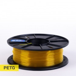 Filamento PETg 1.75mm CLEAR AMARILLO