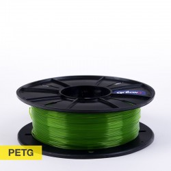 Filamento PETg 1.75mm CLEAR VERDE